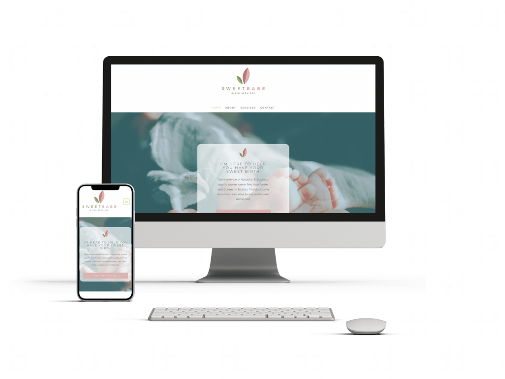 Wild World Mama - Doula Website Design