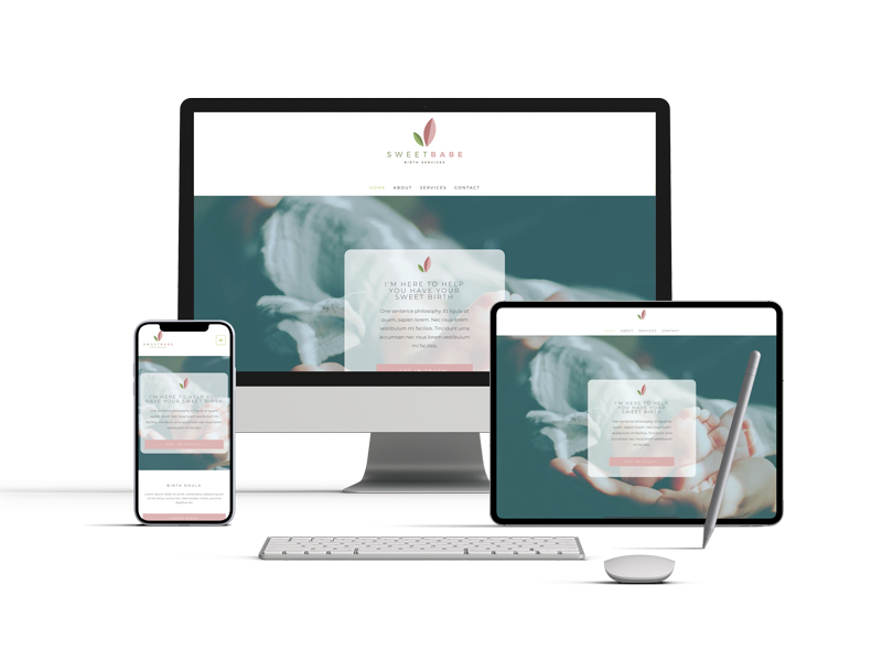 Websites for Birth Workers - Wild World Mama
